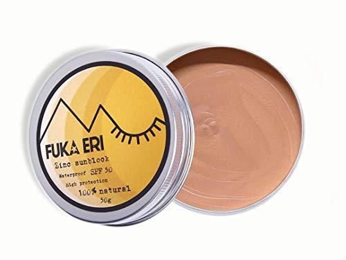 Fuka Eri | Met zink & non-nano | Hoge SPF van 50+ | Veganistisch