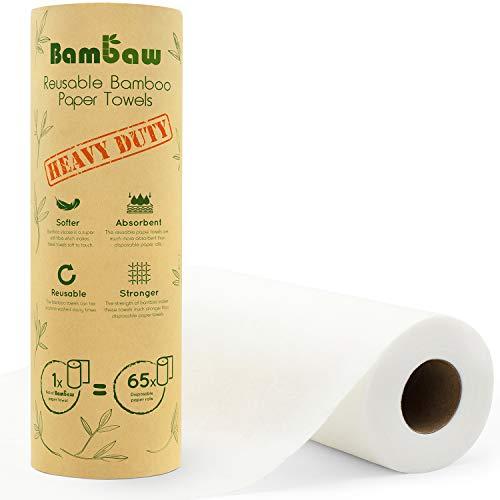 Paños reutilizables   Rollo de cocina ecológico   Multiuso