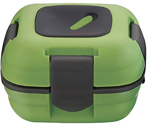 Lunch Box ~ Pinnacle Insulated Leak Proof Lunch Box for Adults and Kids - Thermal Lunch Container With NEW Heat Release Valve, 16 oz - Green