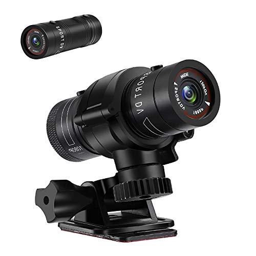 LXMIMI Action Cam, 1080P HD Caméra Moto, 120° Grand Angle Caméra pour Velo, Enregistreur Vidéo de Voiture, Enregistreur de Voiture à Vélo Étanche pour la Nature