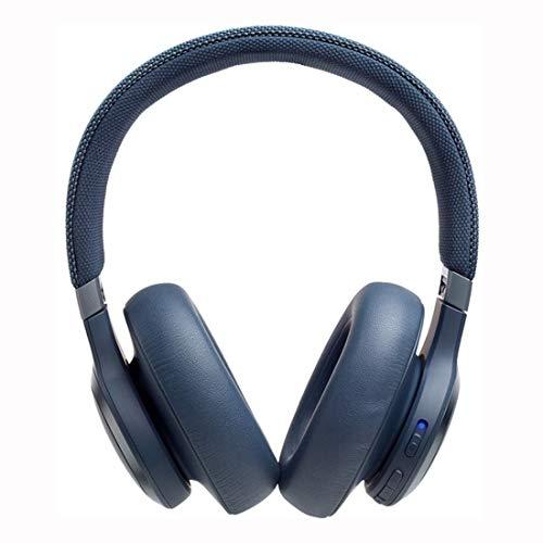JBL LIVE 650BTNC Casque audio Circum-Auriculaire Sans Fil, Écouteurs Bluetooth avec Commande pour Appels avec Amazon Alexa Intégré, Autonomie Jusqu'à 30 heures, Blanc