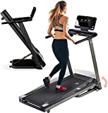 LifePro Folding Treadmill for Home - Smart Motorized Portable Treadmill with Incline, Bluetooth...