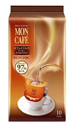 モンカフェ カフェインレスコーヒー10P デカフェ・ノンカフェイン