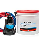 Kelaro Tankless Water Heater Flushing Kit - Just add Vinegar