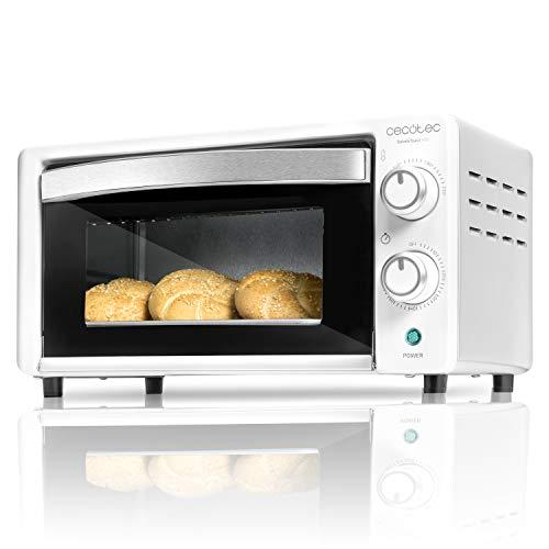 Cecotec - Bake&Toast, Forno elettrico da tavolo, capacit di 10 litri 490 bianco