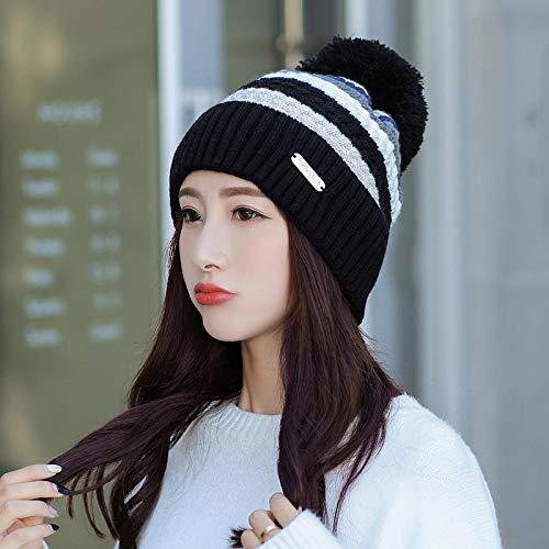 MedusaABCZeus Nuovo Cappello Invernale da Donna alla Moda,Warm And Velvet Thickening Ear Cover Neck...