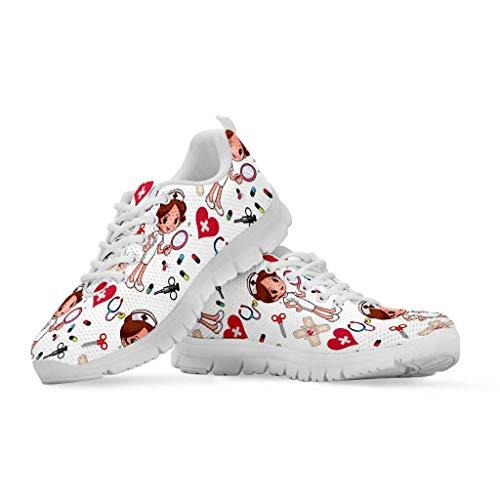 chaqlin - Zapatillas para correr Galaxy de malla transpirable, con un diseño moderno, para hombres y mujeres, color, talla 39 EU