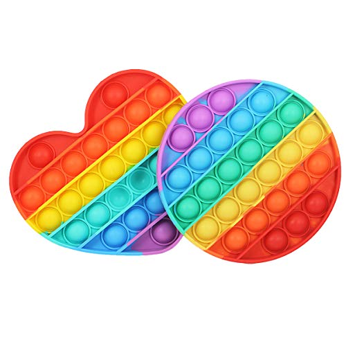 Push Pop Bubble Fidget Sensory Toys for Autistic Children,...