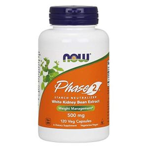 NOW Supplements, Phase 2® (White Kidney Bean Extract) 500 mg, Weight Management*, 120 Veg Capsules 8 - My Weight Loss Today