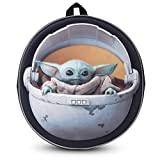 Disney® Official Star Wars The Child Backpack Baby Yoda Mandalorian | Licenced School Travel Bags Baby Yoda in Carriage | Exclusive Kids Boys Girls Youth Adult Rucksack Backpack