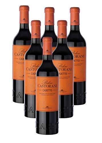 Castorani Cadetto Trebbiano d'Abruzzo DOC - 6 Bottiglie da 75cl.