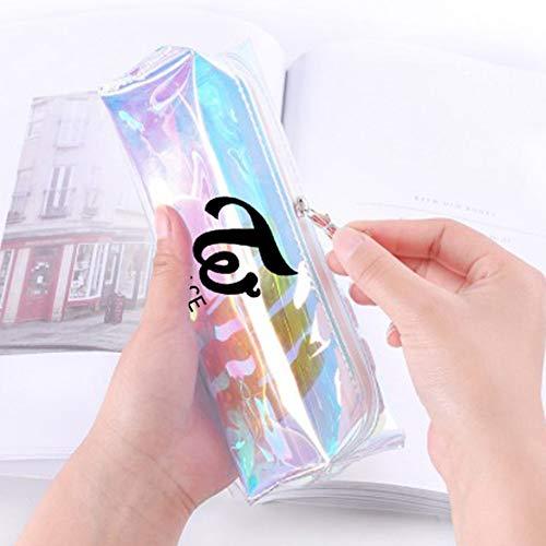 Saicowordist KPOP EXO GOT7 - Astuccio porta matite trasparente con stampa laser TWICE