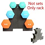 SUHAPPY Weight Lifting Dumbbell Tree Rack Stands,Weightlifting Holder Dumbbell Floor Bracket(Not Included Dumbbells)…