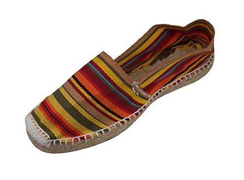 Alpargatus - Alpargata Plana Rayas, Mujer, Multicolores, 42 EU
