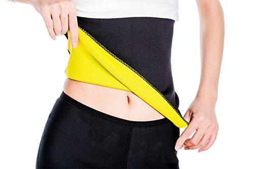 G-Smart Shapers, fascia per il sudore. Fascia sportiva dimagrante piatta, in neoprene, per yoga e...