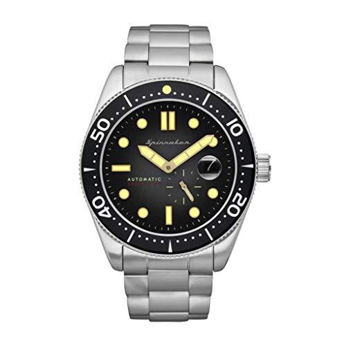 SPINNAKER Croft Herren-Armbanduhr 43mm Armband Edelstahl Automatik SP-5058-22