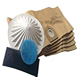 Lot de 5 sacs et filtres pour aspirateur Vax 6131 7131 6151SX 5120 8131