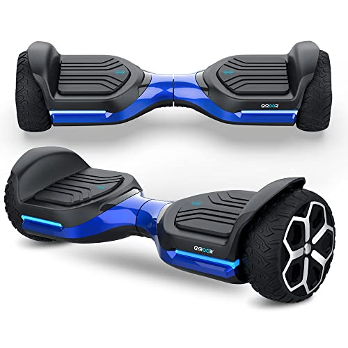 Gyroshoes Hoverboard off road all terrain Self Balancing hoverboard 6.5' T581 Flash...