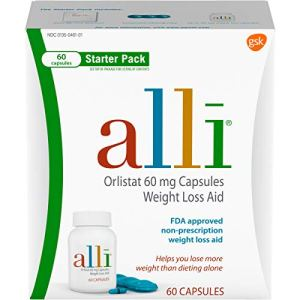 alli Weight Loss Diet Pills, Orlistat 60 mg Capsules, 60 Count Starter Pack 8 - My Weight Loss Today