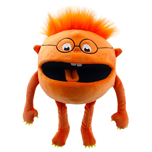The Puppet Company - Baby Monsters - Orange Hand Puppet (Toy)