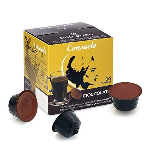 Consuelo Dolce Gusto*, capsule compatibili - Cioccolata, 96 capsule (16 x 6)