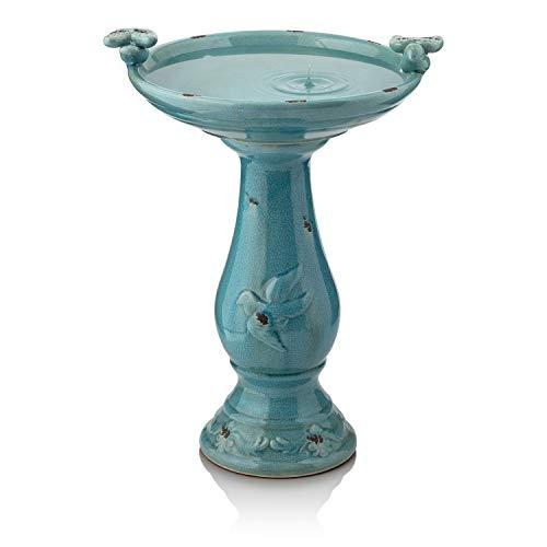 Alpine Corporation Ceramic Birdbath