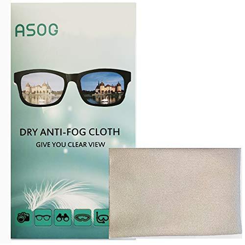 ASOG Anti-Beschlag-Tücher für Brillen, Objektivtücher,...