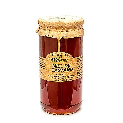 La Cantara Miel de Castaño 1 Kg - Pura de Abeja - 100% Natu
