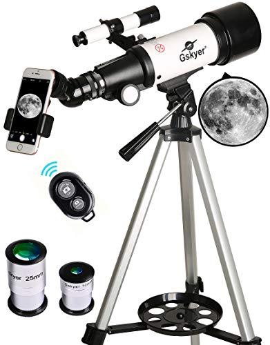 Gskyer Telescope, Travel Scope, 70mm Aperture...