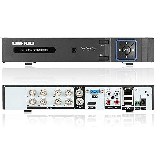 OWSOO 8CH H.264 1080P P2P Network DVR CCTV Sicurezza Controllo di Telefono Email Allarme di Rilevamento del Movimento per Telecamera di Sorveglianza