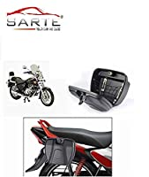 Before purchasing this item please check the 3rd image which is a size comparison with the bike, Please check the size before purchasing. Long Lasting Injection Moulded Plastic Material Vehicle Compatibility: All Bikes and Scooters (Geared/Non-Geared...