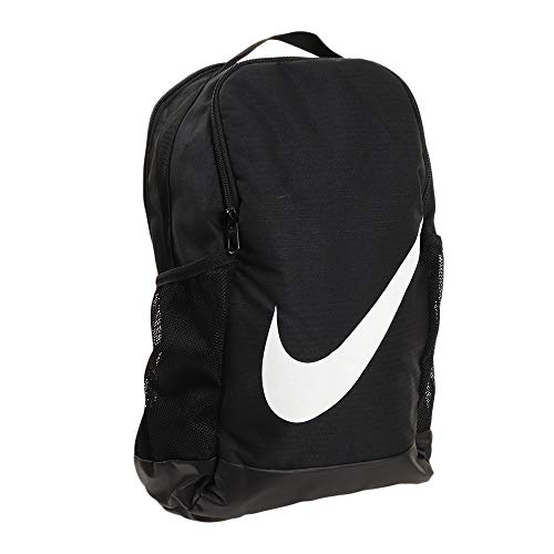 NIKE Youth Brasilia Backpack - Fall'19, Black/Black/White, Misc