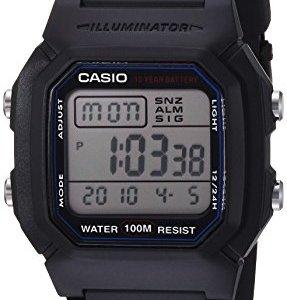 Casio Men's W800H-1AV Classic Sport Watch with Black Band 34