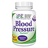 Michael's Naturopathic Programs Blood Pressure Factors - 180 Vegetarian Tablets - Blood Pressure Support, Nourishes Cardiovascular & Nervous Systems - Gluten Free, Kosher - 60 Servings