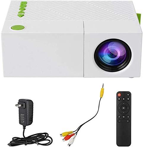 ZLSANVD LED proiettore a LED Mini proiettore portatile tenuto in mano il supporto 1080P del teatro...