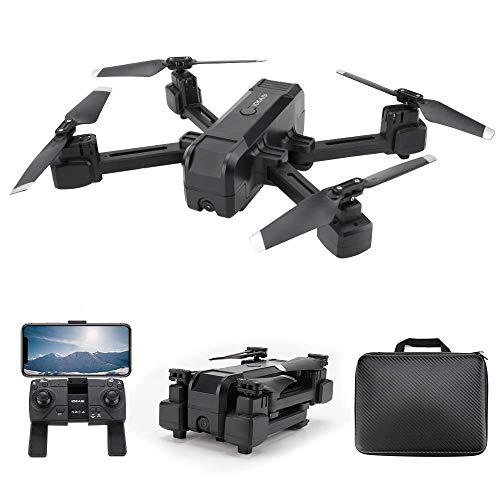 le-idea - IDEA19 Drone con Telecamera Professionale 2K HD, Pieghevole Drone GPS Trasmissione WiFi...