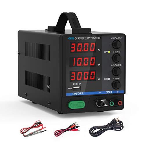 Dr.meter Variable 4-Digital LED Display Power Supply