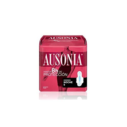 Ausonia Noche Compresas con Alas - 9 unidades