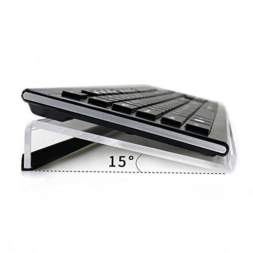NewCrea Support de clavier incliné, élévateur ergonomique de clavier pour jeux sur ordinateur et saisie