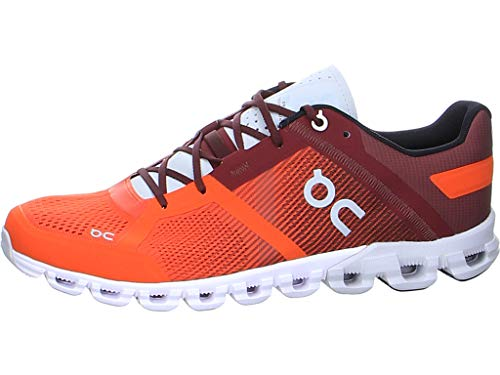 ON Cloudflow Road Running Mens Shoes, Flare/Dawn - 10.5 UK
