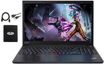 "2020 Lenovo ThinkPad E15 15.6"" FHD Business Laptop Computer, 10th gen Intel i5-10210U (up to 4.20GHz,Beat i7-8550u), 32GB RAM, 1TB SSD, WiFi HDMI Win10 Pro w/Ghost Manta Accessories"