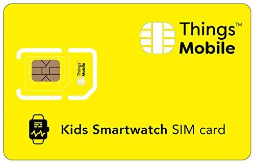 Tarjeta SIM para SMARTWATCH / RELOJ INTELIGENTE PARA NIÑOS