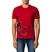 Regular Fit T-shirt Fabric: 100 percent Cotton Neck: Crew Neck Single Jersey 190gsm Classic crewneck; Comes with leather patch
