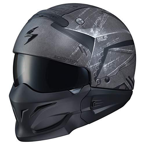 Scorpion Covert Helmet - Incursion (X-Large) (Black/Grey)