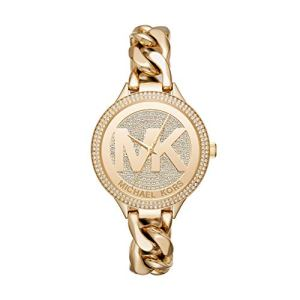 Michael-Kors-Womens-Slim-Runway-Gold-Tone-Stainless-Steel-Watch-MK3474
