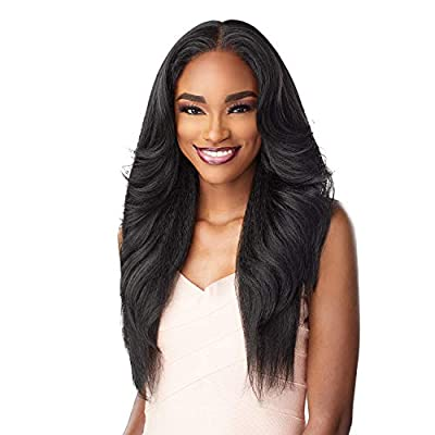 """13""""X6"""", Ear-to-Ear with 6"""" Deep Hand-tied. Pre-pluck, Natural Density. Undetectable Flawless Hairline. Perfect Hairline With Baby Hair Along The Hairline. Protective Style No Leave-out Necessary."""