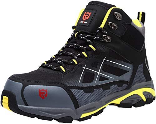 LARNMERN Zapato de Seguridad S3 SRC,LM-1702, con Tapa de Ace