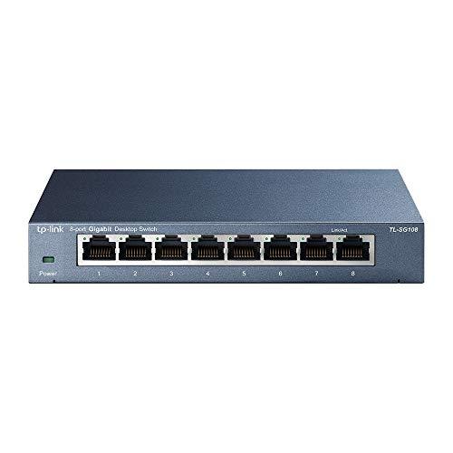 TP-Link TL-SG108 Switch 8 Porte Gigabit,...