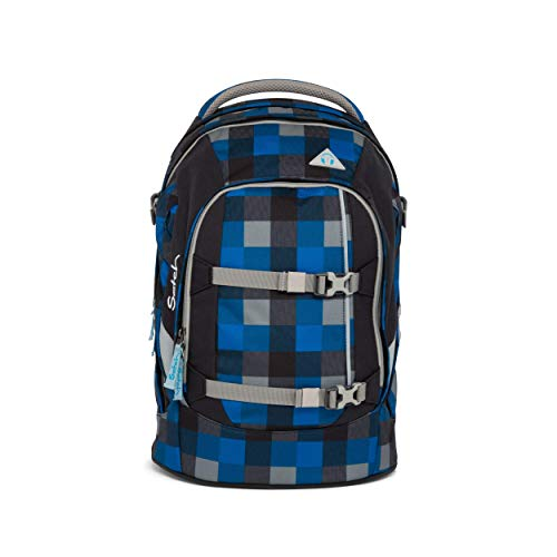 satch Pack Airtwist, ergonomischer Schulrucksack, 30 Liter, Organisationstalent, Blau