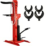 BestEquip 3 Ton Capacity Auto Strut Coil Spring Compressor Tool 6600LB Strut Compressor with 4 Snap Joints Air Hydraulic Tool for Car Repairing and Strut Spring Removing (3 Ton Capacity)